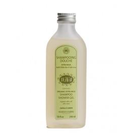"""Marius Fabre Shampooing Douche """"Extra doux"""", à l'huile d'olive et à l'Aloe Vera, certifié BIO"""